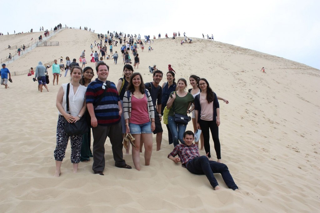 休日の小旅行・ピラ砂丘